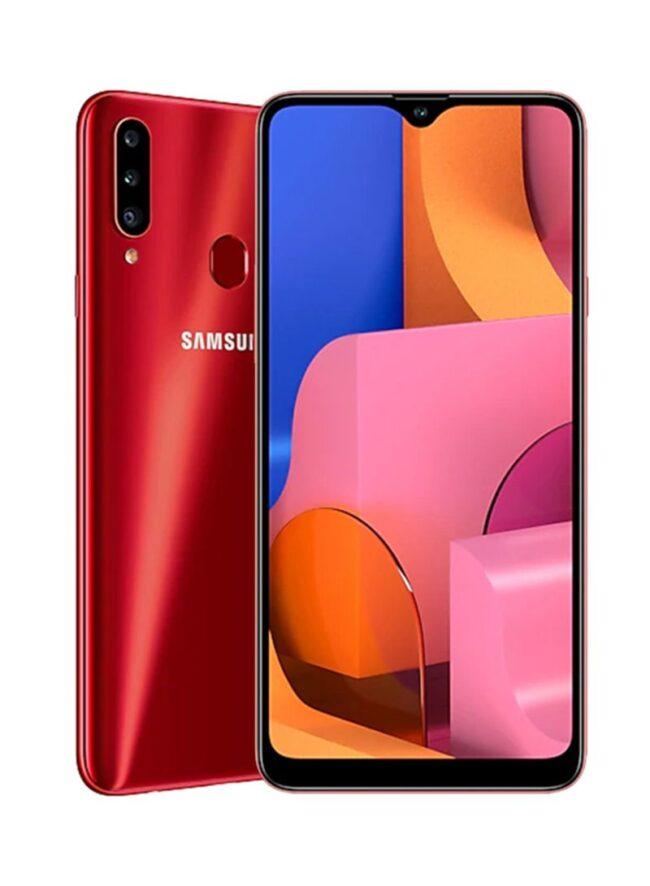 Galaxy A20s Dual SIM Red 3GB RAM 32GB 4G LTE