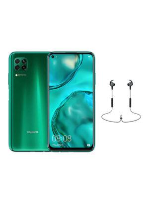 HUAWEI Nova 7i Dual SIM Crush Green 128GB 8GB RAM 4G LTE With Huawei AM61 Bluetooth