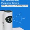 Bison Wide Angle 1.0MP FV-A1801B-720PH 360 degree Panoramic WIFI IP Camera