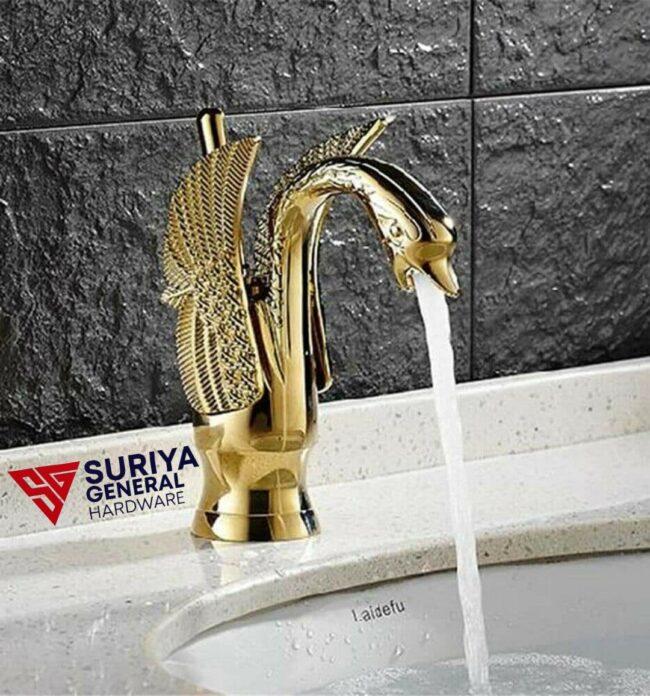 Metallic golden Water Tap