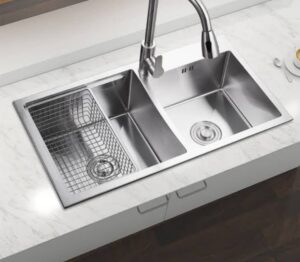 CLASSIC 2B 86 Inset Stainless Steel Sink with two bowl